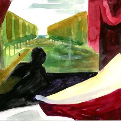 Estudio color Venus (Tiziano)