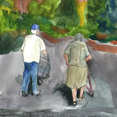 El paseo diario