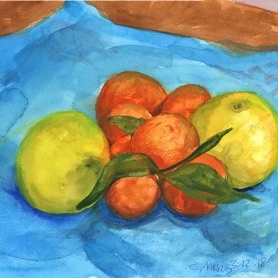 Mandarinas y pomelos