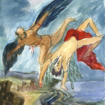 Ejercicio de confinamiento nº 40. La caída de Ícaro (Gowy/Rubens)