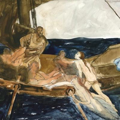 Ejercicio de confinamiento nº 32. Ulises y las sirenas (H.J.Draper)