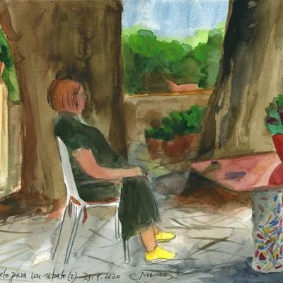 Boceto para un retrato (2)