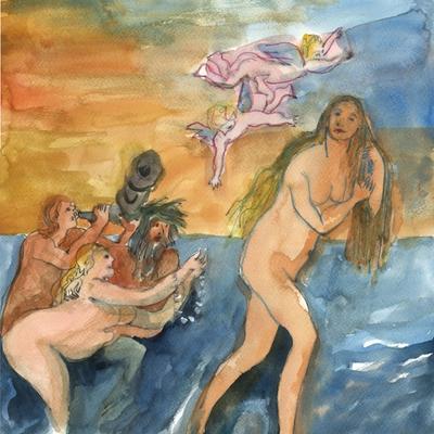 Ejercicio de confinamiento nº 37. El nacimiento de Venus (Cornelis de Vos)