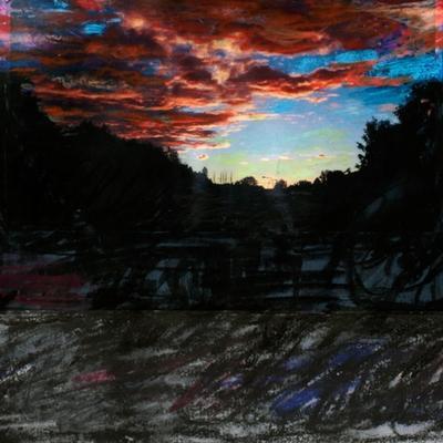 """Puertas del cielo I (18º3'E59º19'30""""N Estocolmo) Variación 4"""