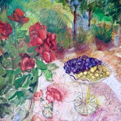 Rosas y huvas
