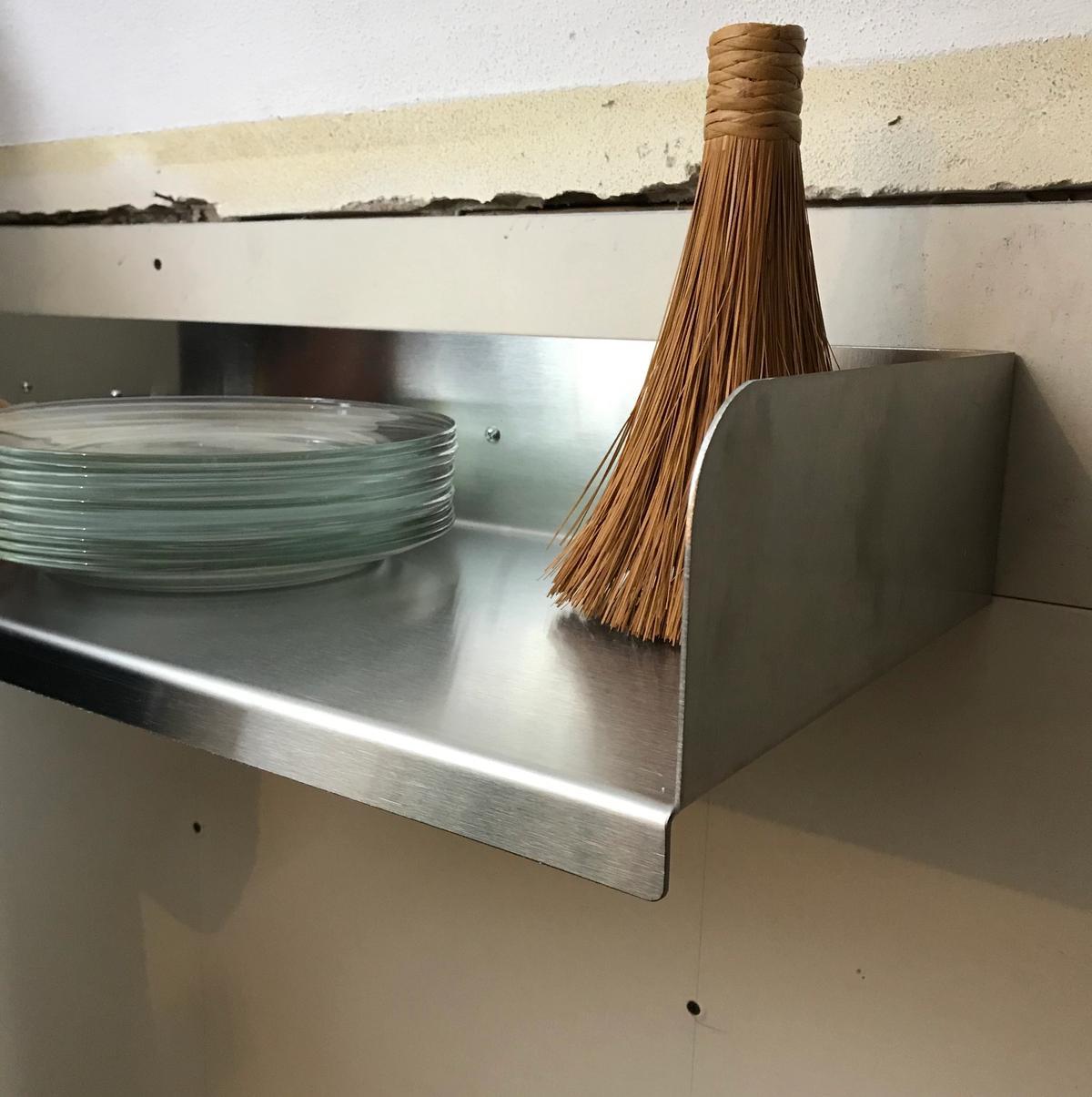 Aluminum prototype shelf