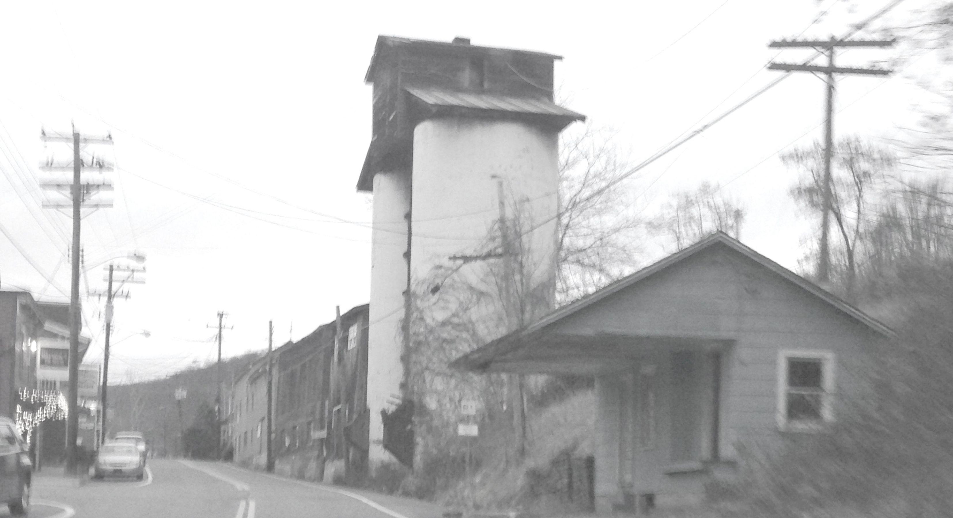 double coal silo