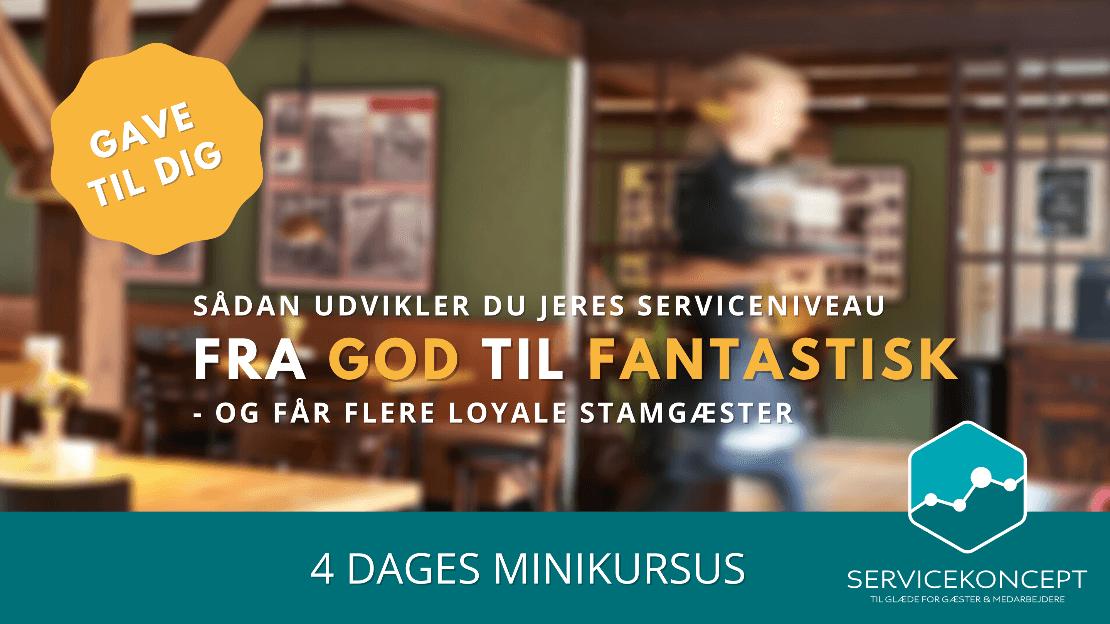 Optimer antallet af loyale stamgæster i din restaurant