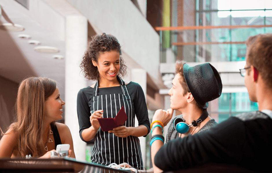 Studerende i din restaurant
