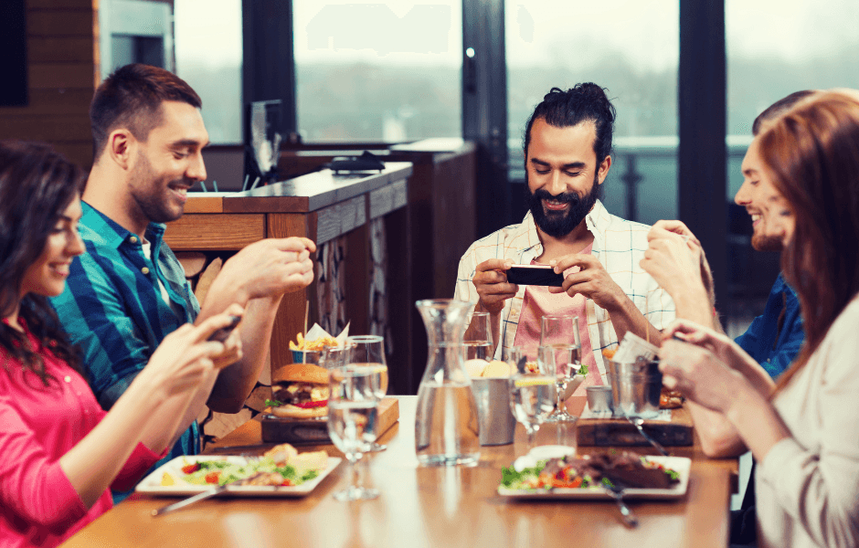 Sociale medier og restauranter