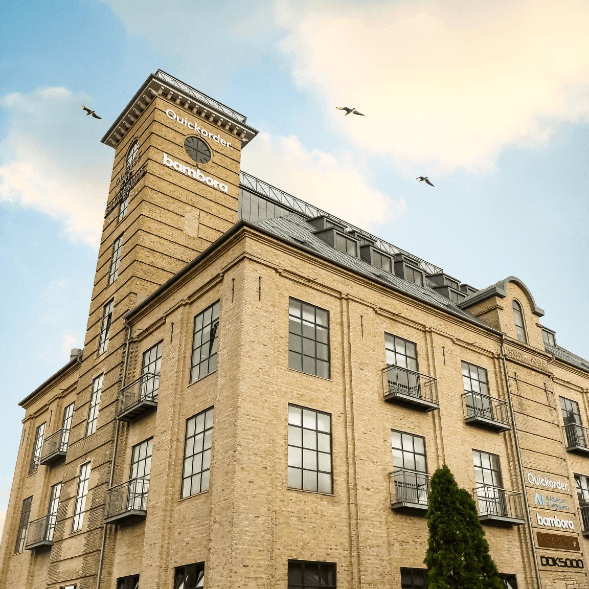 Quickorders hovedkontor i Odense