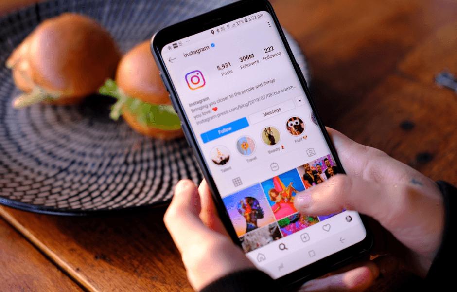Sælg takeaway via Instagram
