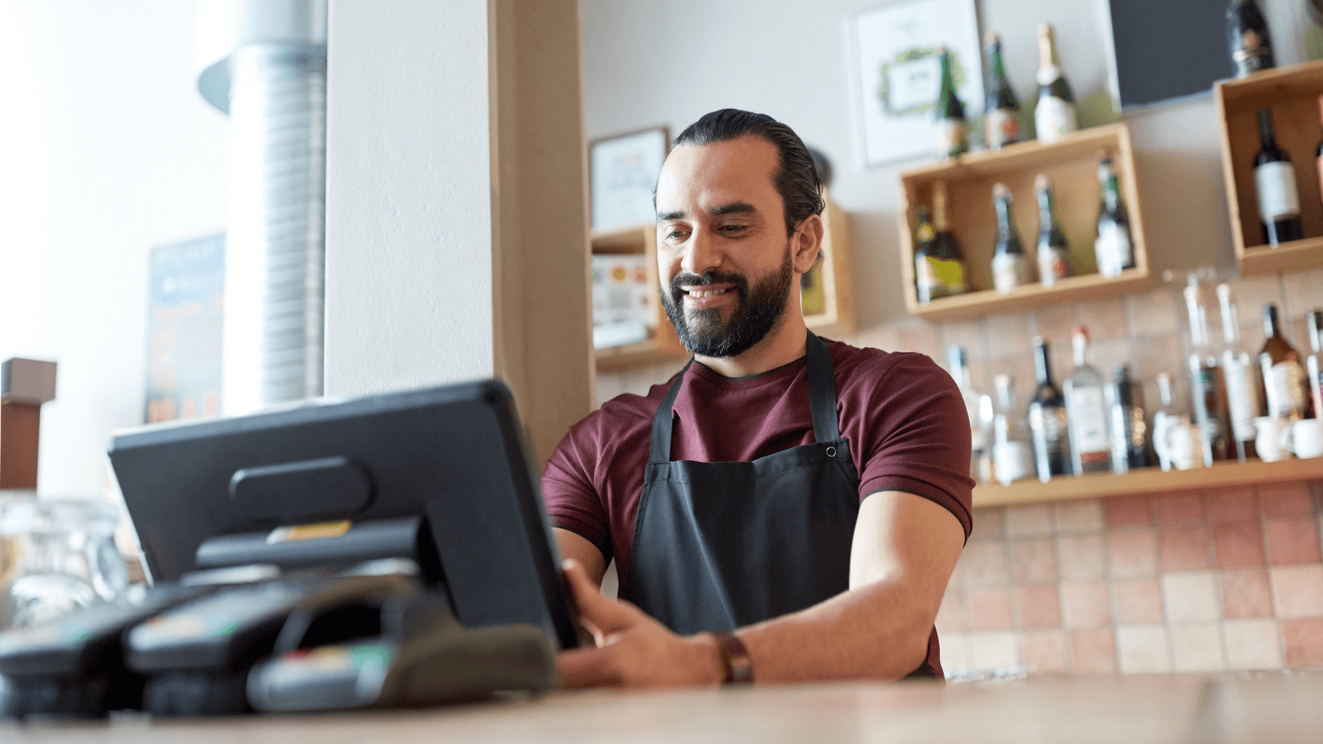 Kassesystem til restauranter