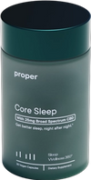 Core Sleep CBD 30d bottle