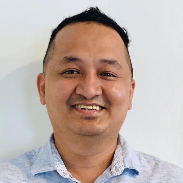 Smiling man | Sumish Khadka | Proper VP Supply Chain and Products