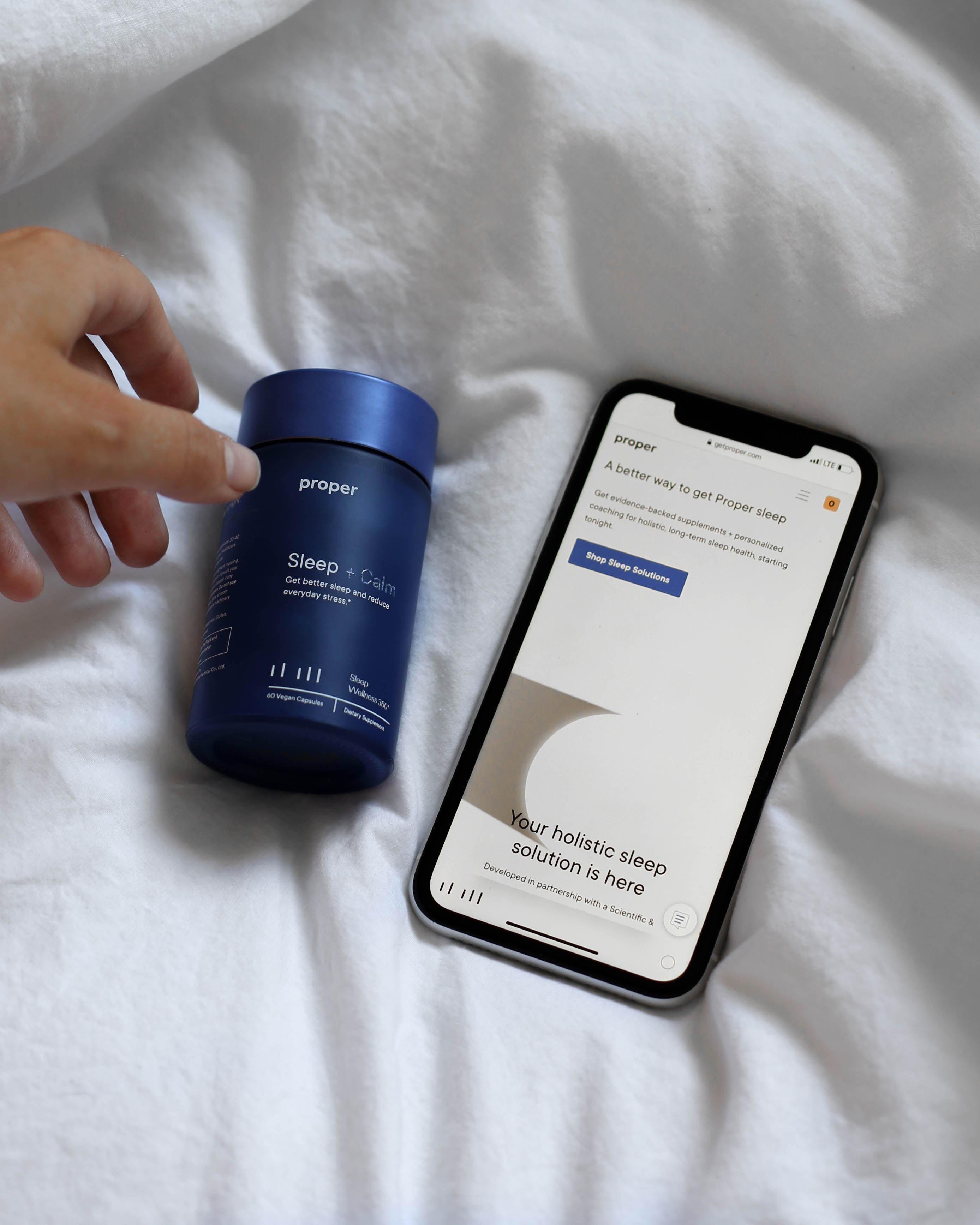Proper's Commitment | Sleep supplements | Digital Coaching