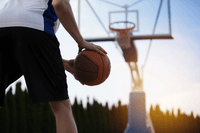 man about to shoot a basketball_sleep and athletic performance_proper
