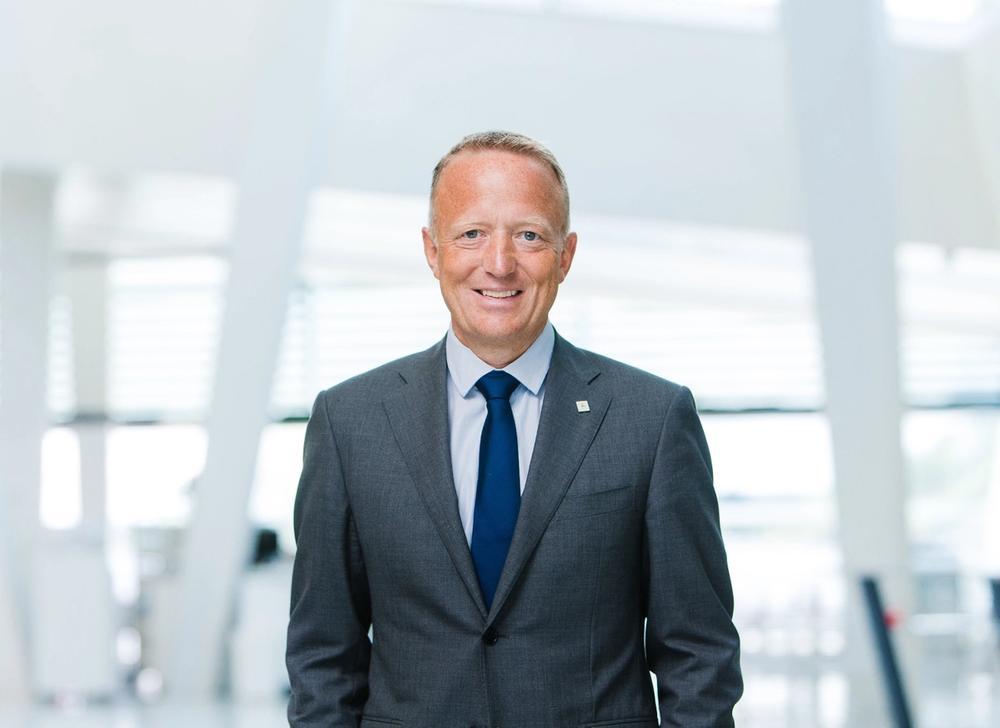 Bilde av Harald V. Nikolaisen, Adm. direktør i Statsbygg