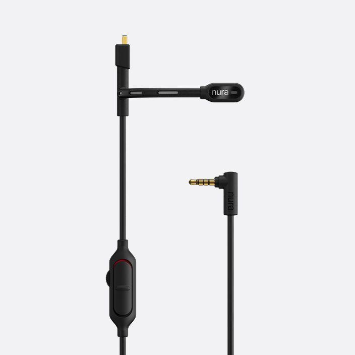 NURAPHONE gaming microphone with standard 3.5mm analog jack