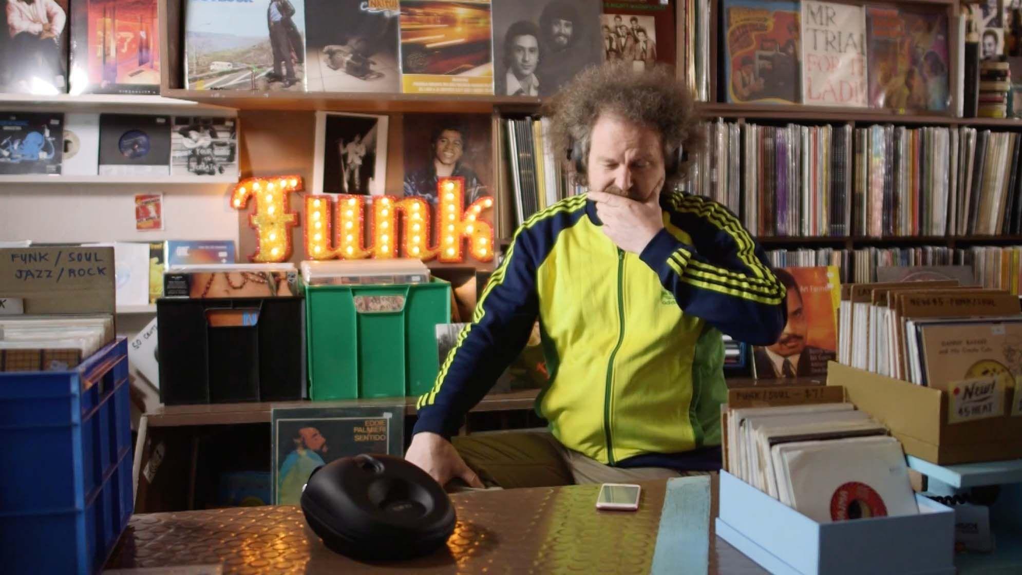 Chris Gill, film editor, reviewing the NURAPHONE headphones