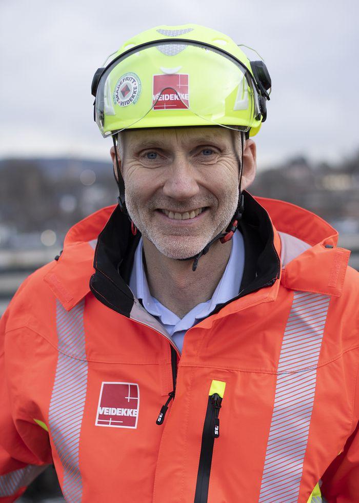 Hans Olav Sørlie er konserndirektør for Veidekke Bygg