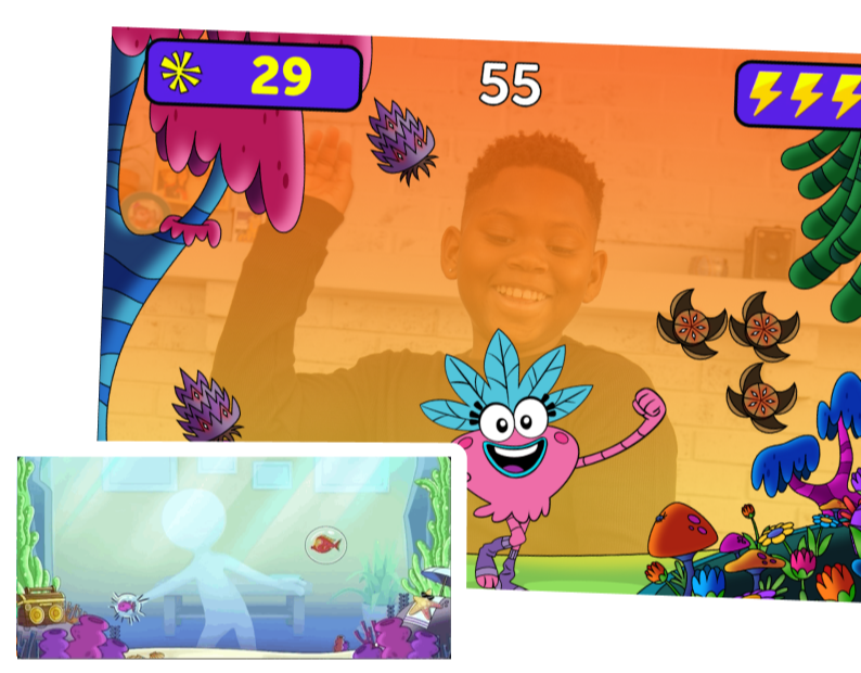 Get moving at home and on the go with GoNoodle Games for iOS and Android!