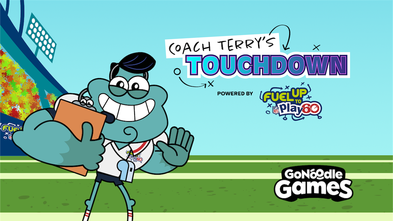 Coach Terry's Touchdown!