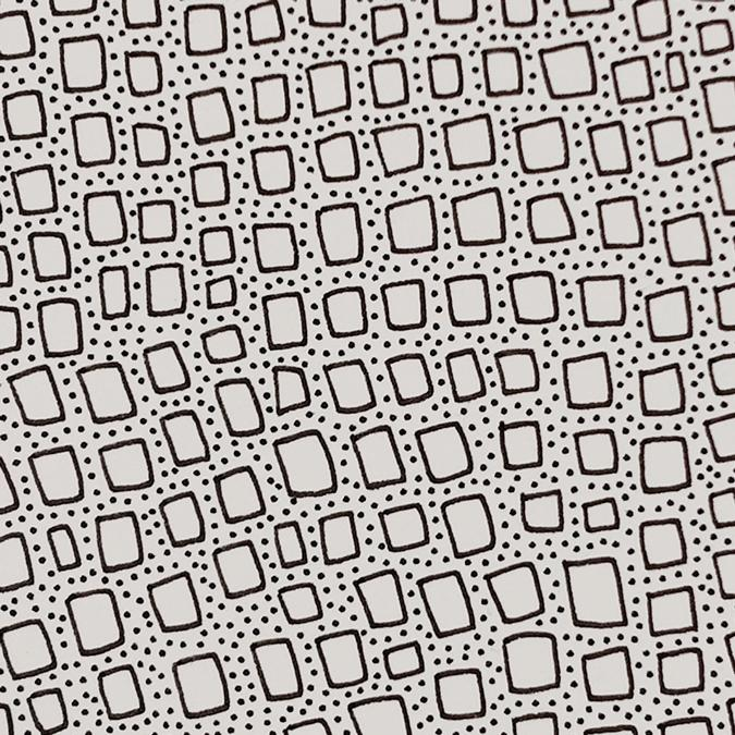 detail of Infinity Bricks drawing