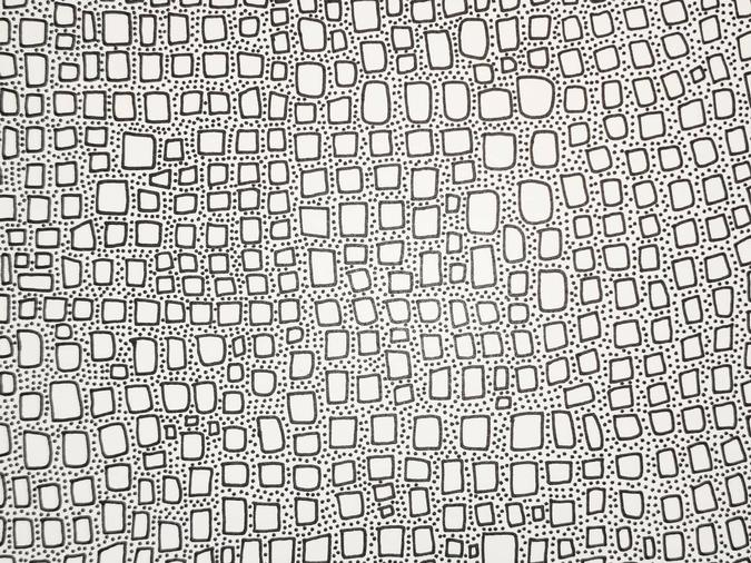 detail of Infinity Bricks Study drawing