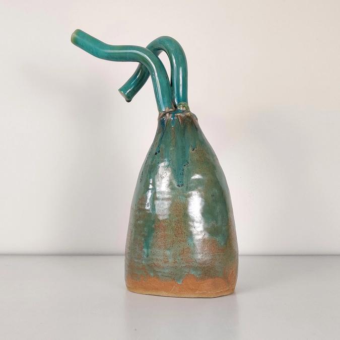ceramic Tentacle Vase