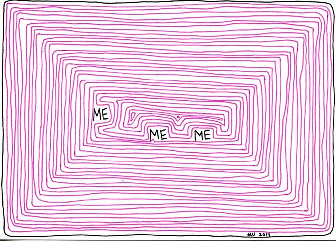 ME ME ME drawing