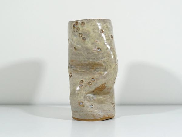 ceramic Whack Tube 2 by Jen Wohlner