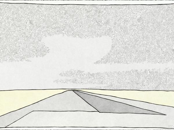 Landscape 1 drawing