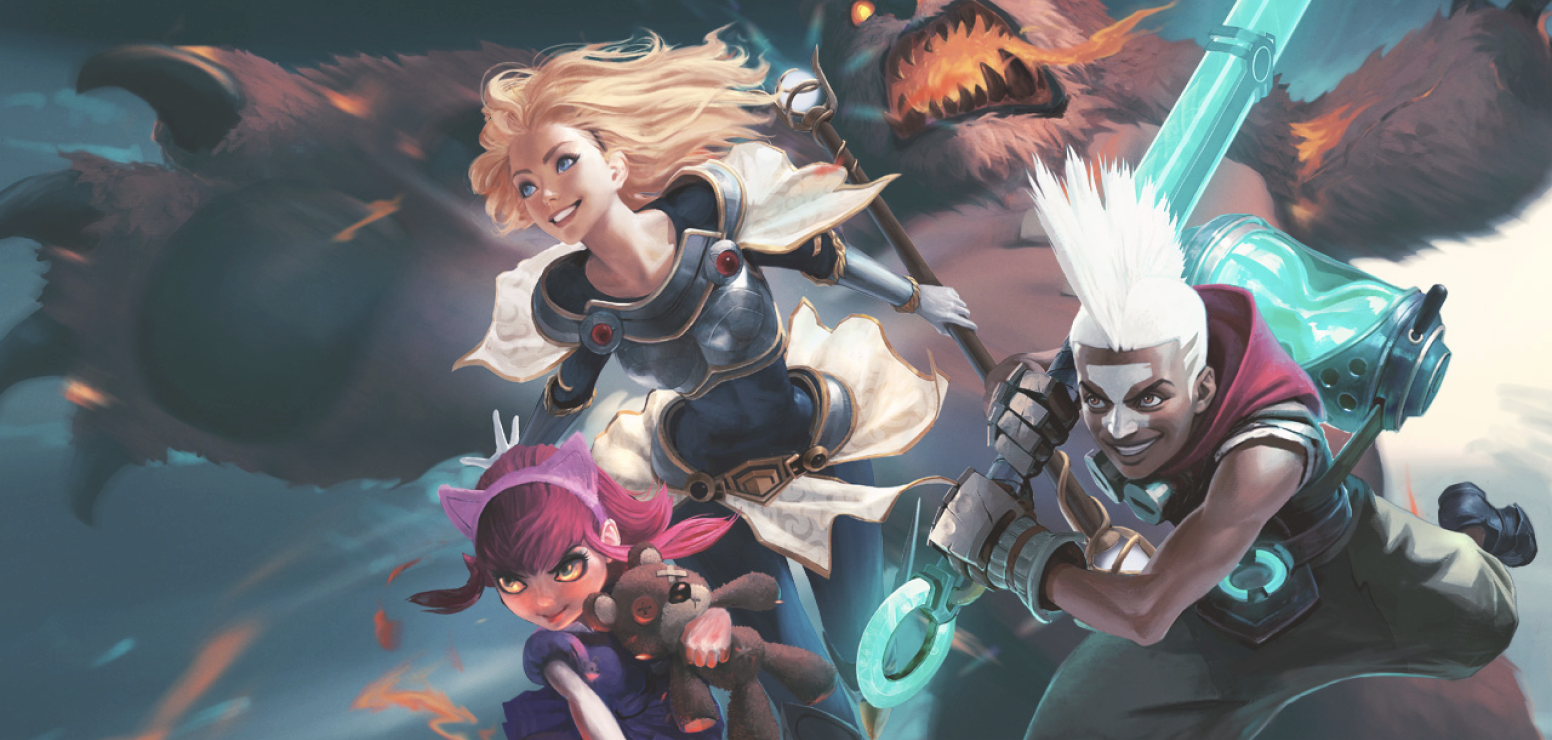 League of Legends game art