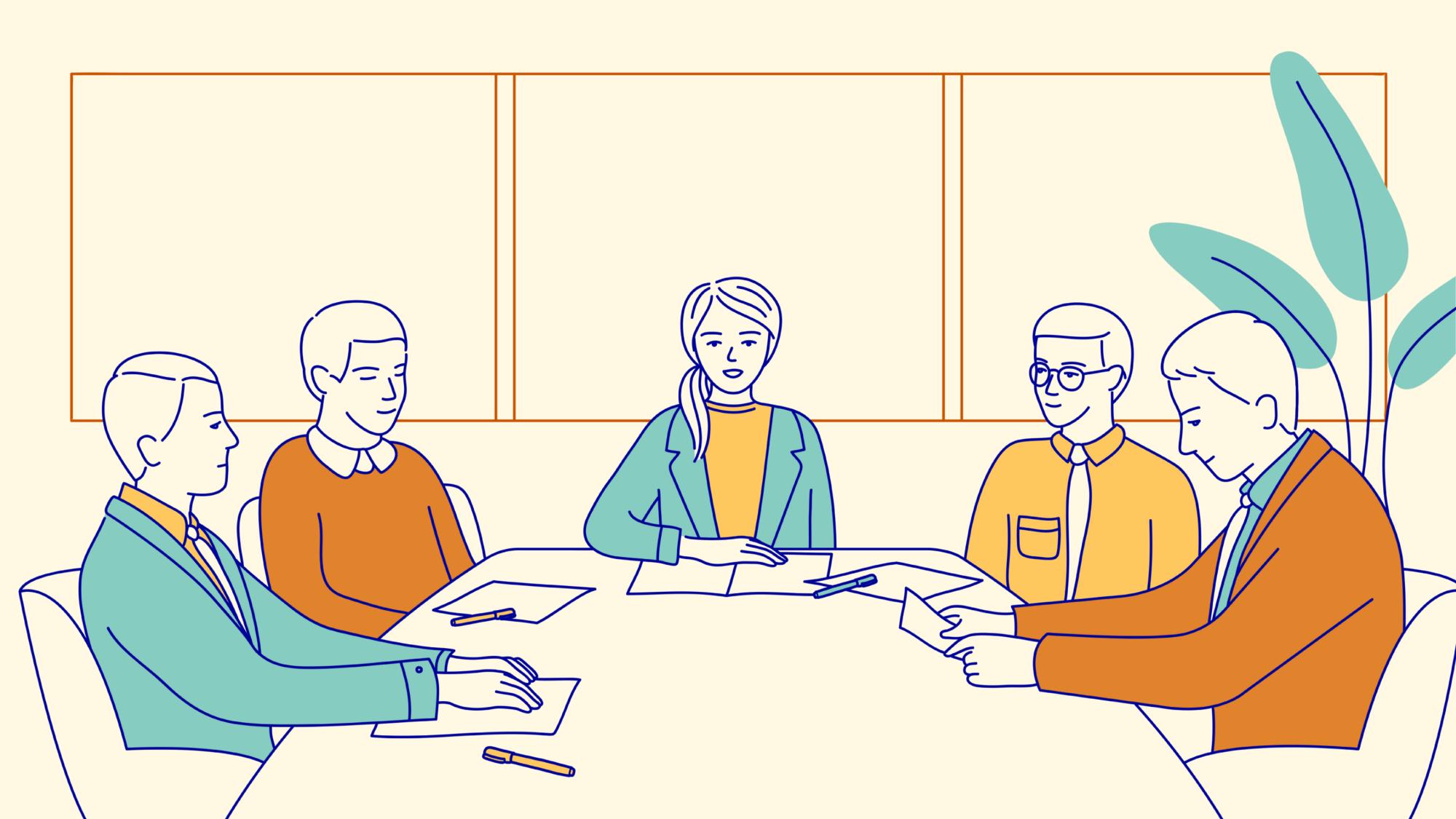Illustration Meeting
