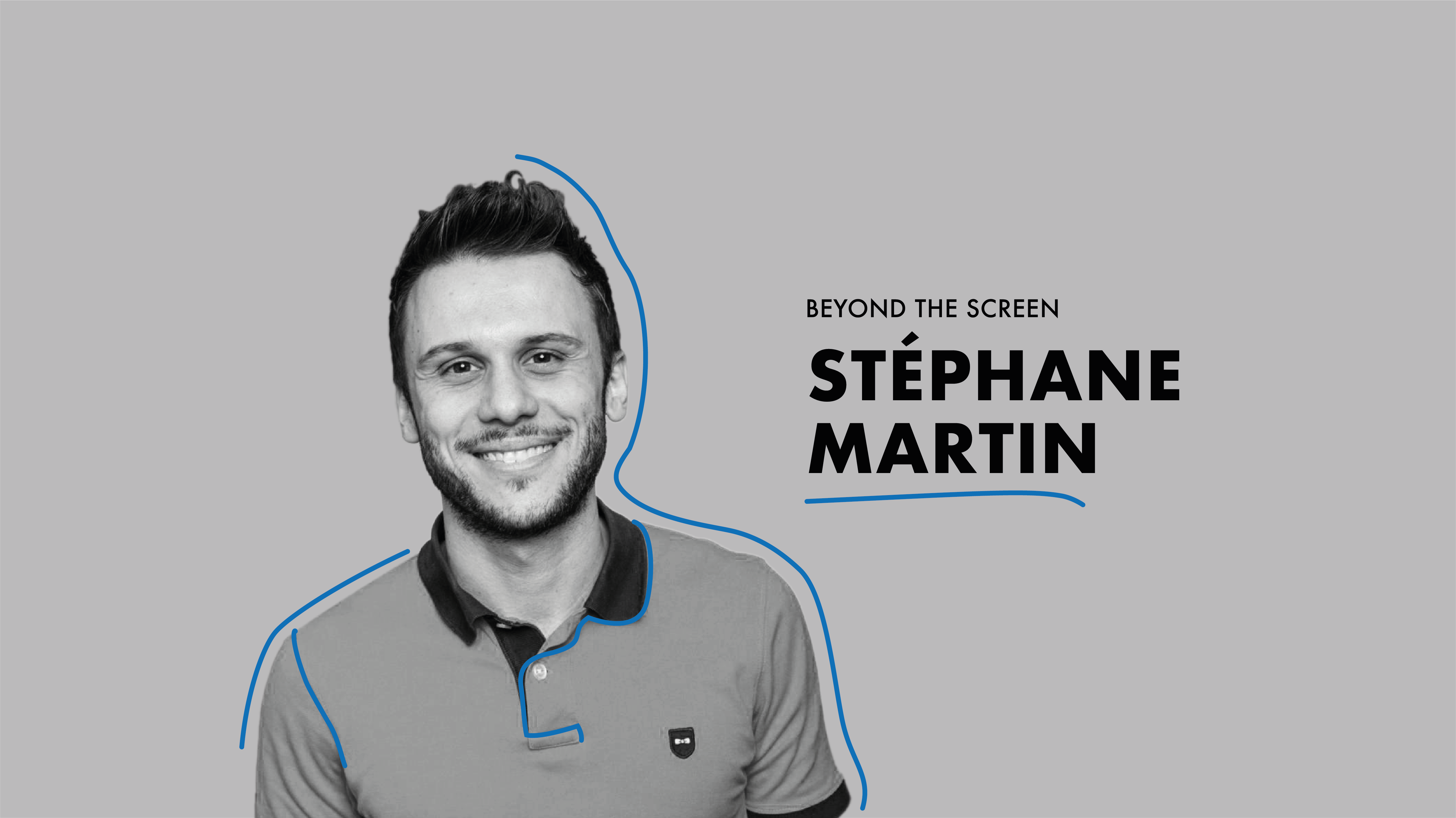 Good patch interview, beyond the screen: Stéphane Martin