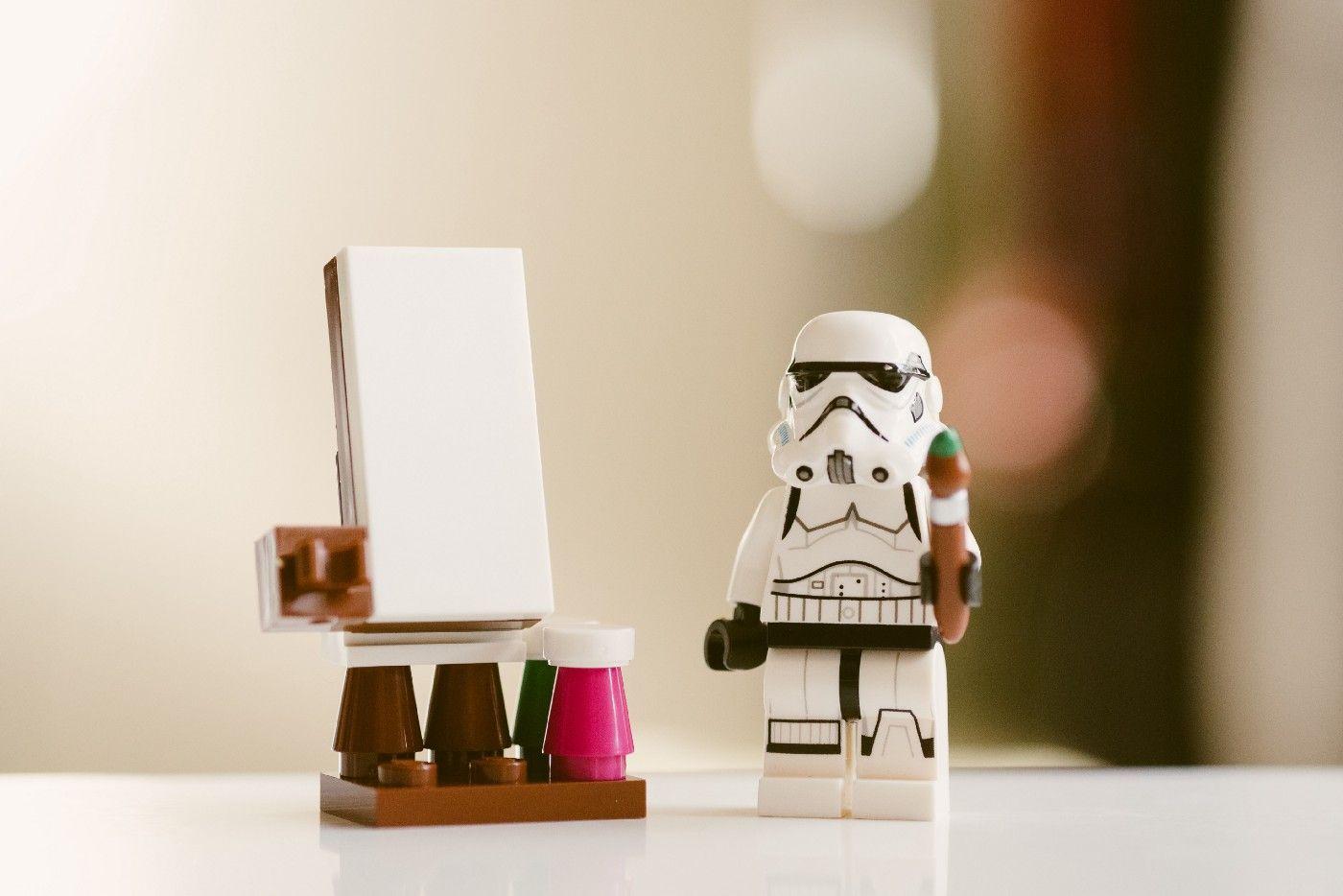 Photo star wars lego