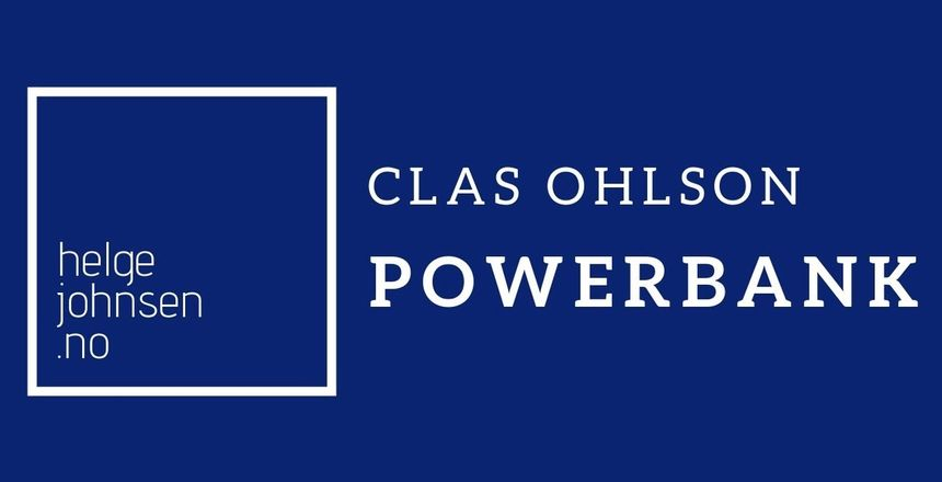 Clas Ohlson Powerbank Unboxing