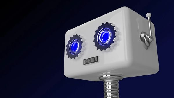 Bilde av en robot