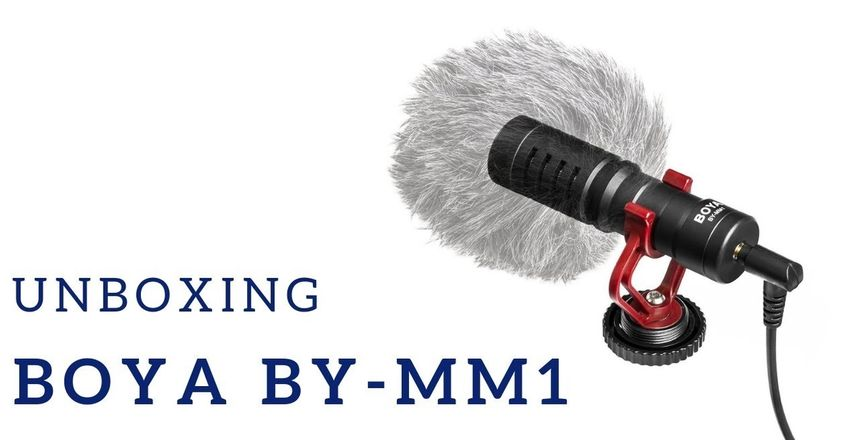 Boya BY-MM1 - unboxing