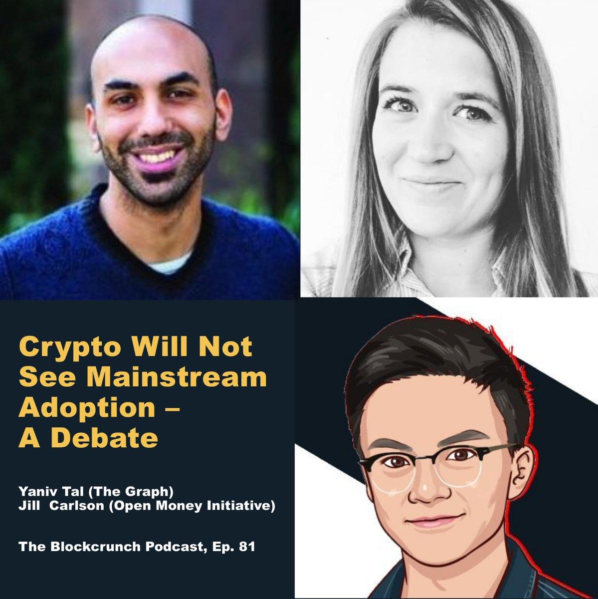Yaniv Tal and Jill Carlson Debate on Blockcrunch