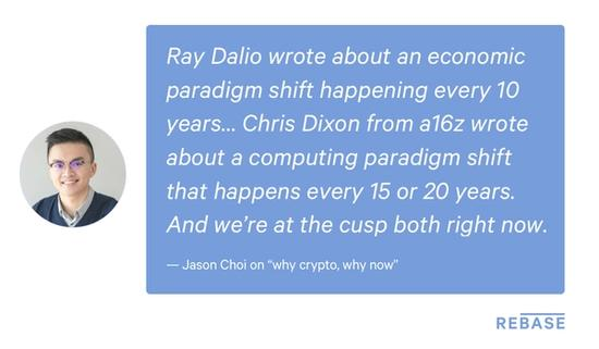 Jason Choi on Why Crypto, Why Now