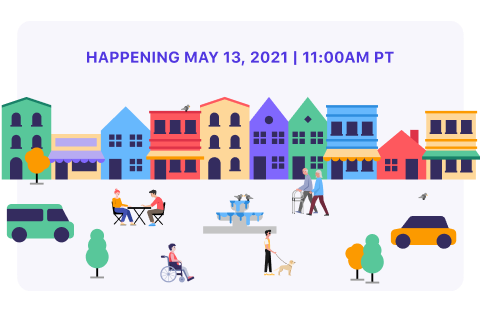 Happening May 13, 2021 | 11:00 am PT
