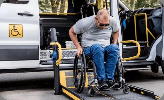Paratransit rider