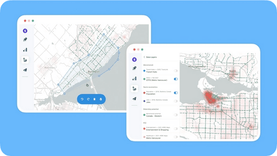 Spare Realize, a microtransit planning tool