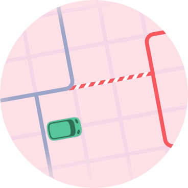 Decentralize fixed-route risk