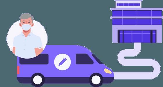 Vaccination transportation