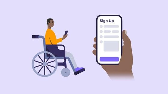 Paratransit rider service sign-up