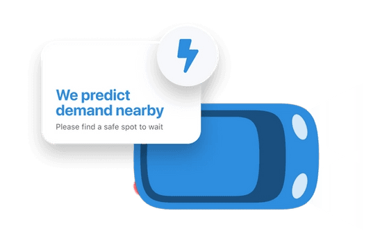 Predicted demand dispatching