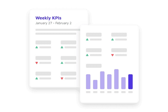 weekly reports
